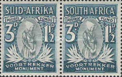 [Charity Stamps for the Voortrekker Monument - Country name in English or Afrikaans, Typ AY]