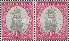 [Local Motives, Country name in English or Afrikaans - Prices are for Single Stamps, Typ BB1]
