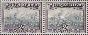 [Local Motives, Country name in English or Afrikaans - Prices are for Single Stamps, Typ BG1]