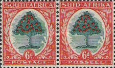 [Local Motives, Country name in English or Afrikaans - Prices are for Single Stamps, Typ BK2]