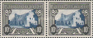 [Local Motives, Country name in English or Afrikaans - Prices are for Single Stamps, Typ BQ1]
