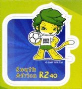 [Football World Cup - South Africa. Self Adhesive Stamps, Typ BQM]