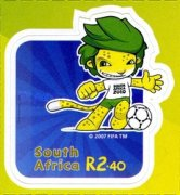 [Football World Cup - South Africa. Self Adhesive Stamps, Typ BQN]