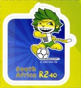 [Football World Cup - South Africa. Self Adhesive Stamps, Typ BQP]