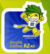 [Football World Cup - South Africa. Self Adhesive Stamps, Typ BQQ]