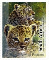 [Fauna - The Big Five. Self Adhesive Stamps, Typ BYL]
