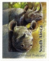 [Fauna - The Big Five. Self Adhesive Stamps, Typ BYM]