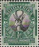 """[Definitive Issue - """"SOUTH AFRICA"""" or """"SUIDAFRIKA"""", type D2]"""