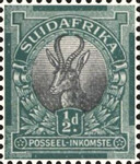 """[Definitive Issue - """"SOUTH AFRICA"""" or """"SUIDAFRIKA"""", type D3]"""