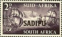 [South African Stamp Exhibition, Cape Town - Overprinted, Typ FW1]