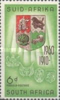 [The 50th Anniversary of Union of South Africa, Typ HF]