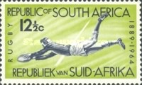 [The 75th Anniversary of South African Rugby Board, Typ JE]