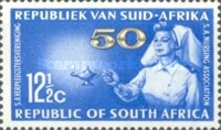 [The 50th Anniversary of South African Nursing Association, Typ JH]