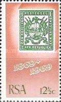 [The 100th Anniversary of the First Stamps of the South African Republic (Transvaal), Typ KW]