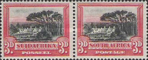 [Local Motives - Country name in English or Afrikaans - Prices are for Single Stamps, Typ M1]