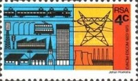 [The 50th Anniversary of ESCOM (Electricity Supply Commission), Typ MA]