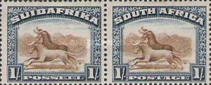 [Local Motives - Country name in English or Afrikaans - Prices are for Single Stamps, type O1]