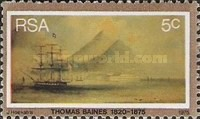 [The 100th Anniversary of the Death of Thomas Baines, Painter, Typ OA]