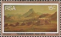 [The 100th Anniversary of the Death of Thomas Baines, Painter, Typ OC]