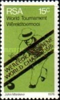 [South Africa's Victory in World Bowls Championships - Overprinted
