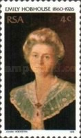 [The 50th Anniversary of the Death of Emily Hobhouse (Welfare Worker), Typ OY]