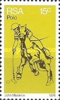 [The 100th Anniversary of Polo in South Africa - Flourescent Paper, Typ OZ]