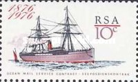 [The 100th Anniversary of Ocean Mail Service, Typ PA]