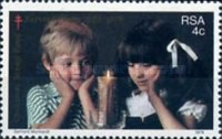 [The 50th Anniversary of Christmas Stamp Fund, Typ RB]