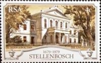 [The 300th Anniversary of Stellenbosch (Oldest Town in South Africa), Typ RH]