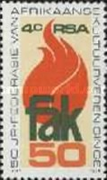 [The 50th Anniversary of F.A.K. (Federation of Afrikaans Cultural Societies), Typ RJ]