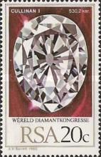 [World Diamond Congresses, Johannesburg, Typ RN]