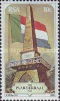 [The 100th Anniversary of the Paardekraal Monument - Cairn commemorating Formation of Boer Triumvirate Government, Typ RV]