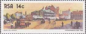 [The 100th Anniversary of Johannesburg, Typ WD]