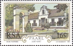 [The 300th Anniversary of the City of Paarl, Typ WU]