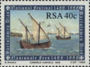 [The 500th Anniversary of Discovery of Cape of Good Hope by Bartolomeu Dias, Typ XH]