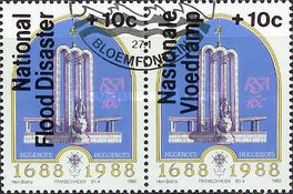 [National Flood Relief Fund - Overprint in English or Afrikaans, Typ XL2]