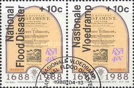 [National Flood Relief Fund - Overprint in English or Afrikaans, Typ XN2]