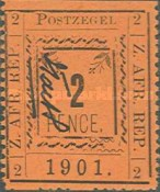 [Pietersburg Issue - Colored Paper, type O5]