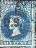 [Issues 1860/1869 Overprinted