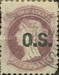 [Issue of 1876/1891 Overprinted