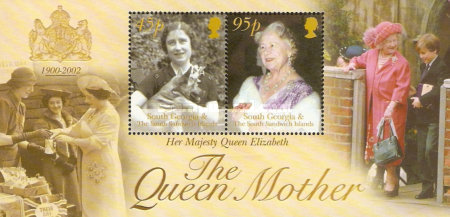 [The Death of Queen Elizabeth the Queen Mother, 1900-2002, type ]