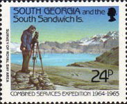[The 25th Anniversary of Research Expedition of the Armed Forces of South Georgia, type AN]