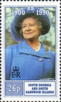 [The 90th Anniversary of the Birth of Queen Elizabeth the Queen Mother, 1900-2002, Typ AQ]