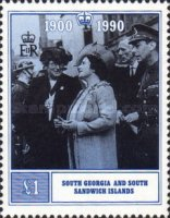 [The 90th Anniversary of the Birth of Queen Elizabeth the Queen Mother, 1900-2002, type AR]