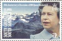 [The 40th Anniversary of the Accession of Queen Elizabeth II, Typ BE]