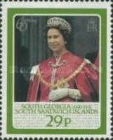 [The 60th Anniversary of the Birth of Queen Elizabeth II, Typ C]