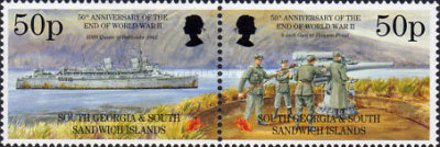 [The 50th Anniversary of the End of the Second World War, type CY]