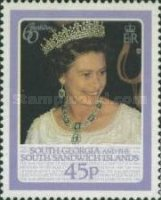 [The 60th Anniversary of the Birth of Queen Elizabeth II, Typ D]
