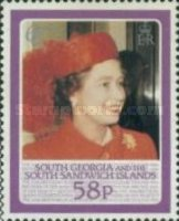 [The 60th Anniversary of the Birth of Queen Elizabeth II, type E]
