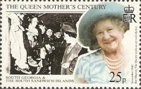 [The 99th Anniversary of the Birth of Queen Elizabeth the Queen Mother, 1900-2002, Typ EL]